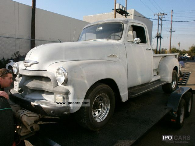 Chevrolet  Stepside 6 cyl, many new parts .. nice part 1954 Vintage, Classic and Old Cars photo