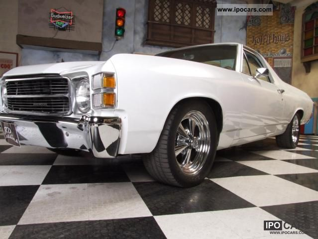 Chevrolet  El Camino V8 5.7 liter / 245 HP! 1971 Vintage, Classic and Old Cars photo
