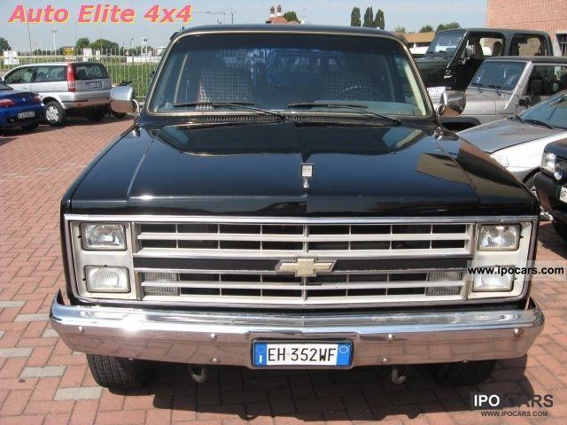 1982 Chevrolet  K5 Blazer 2.6 diesel autocarro Off-road Vehicle/Pickup Truck Used vehicle photo
