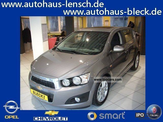 2012 Chevrolet  Aveo 1.6 LTZ 5T. * Glass sunroof * Sitzhz * PDC * LM * Small Car Pre-Registration photo