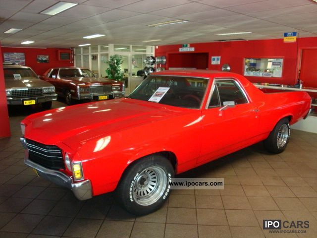 Chevrolet  El Camino 1971 Vintage, Classic and Old Cars photo