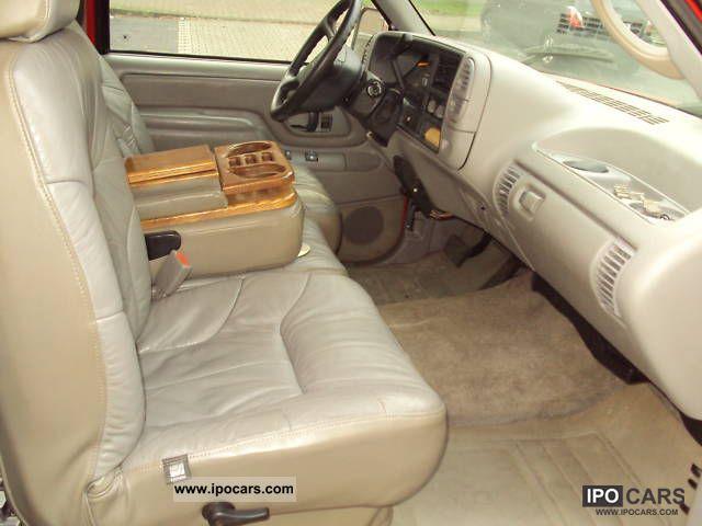 1996 Chevrolet Silverado Car Photo And Specs