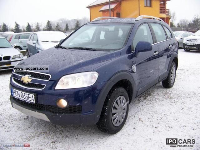 2008 Chevrolet  * Captiva 2.4LPG * FUll * I * BDB * WŁAŚCIcieL Off-road Vehicle/Pickup Truck Used vehicle photo
