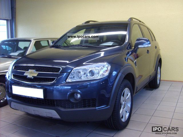 Chevrolet  Captiva 2.4i 4WD 1.Hd + LPG + Leather + Navi + PDC 2008 Liquefied Petroleum Gas Cars (LPG, GPL, propane) photo