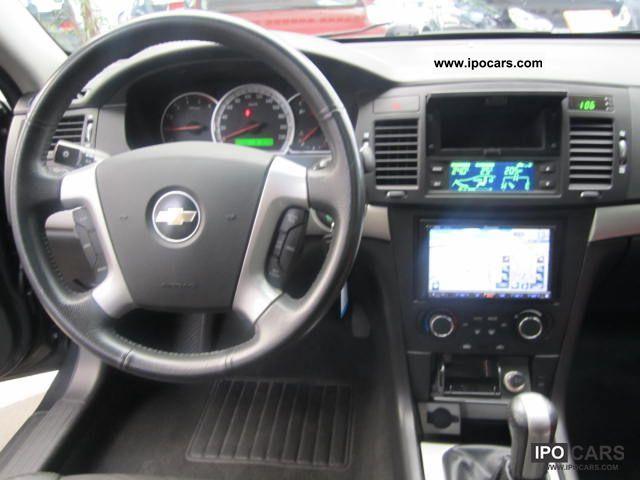 2008 Chevrolet Epica Diesel Leather Navi Klimaautom