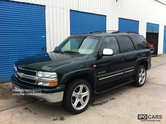 2002 Chevrolet Tahoe Lt 4x4 7 Seats Leather 2 Hand Accident