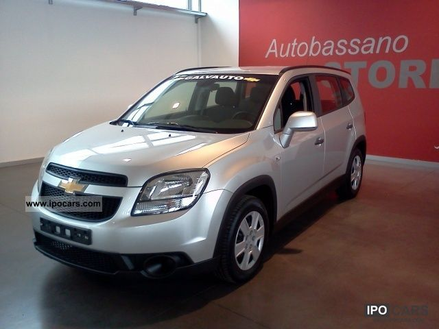 2011 Chevrolet  Orlando 1.8 LS Van / Minibus New vehicle photo