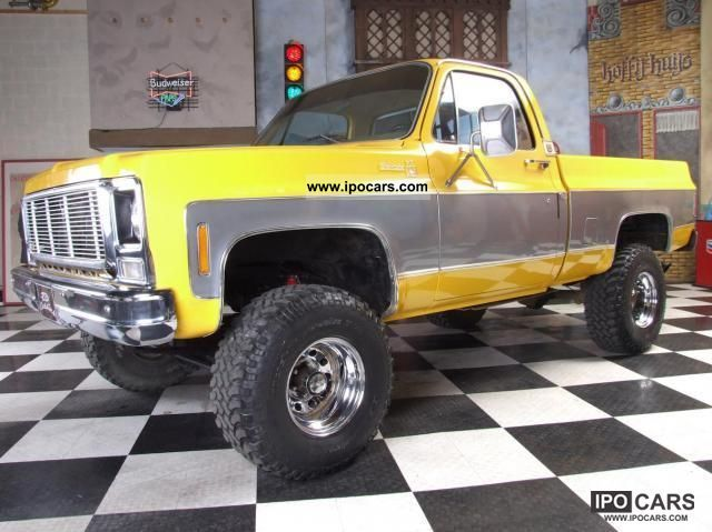 Chevrolet  Silverado 4x4 1979 Vintage, Classic and Old Cars photo