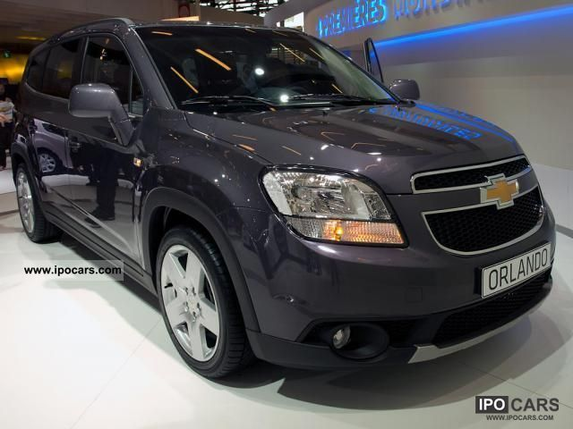 2011 Chevrolet  Orlando LS MT 1.8, 104 kW (141 hp), switching. 5 .. Van / Minibus New vehicle photo