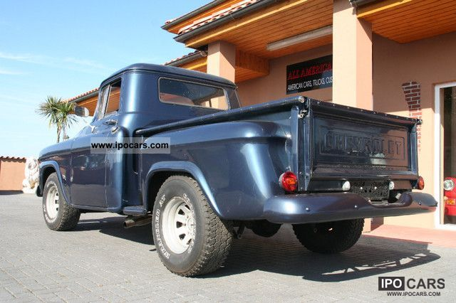 Chevrolet  3100 GMC Stepside pick up Apache H-approval 1958 Vintage, Classic and Old Cars photo