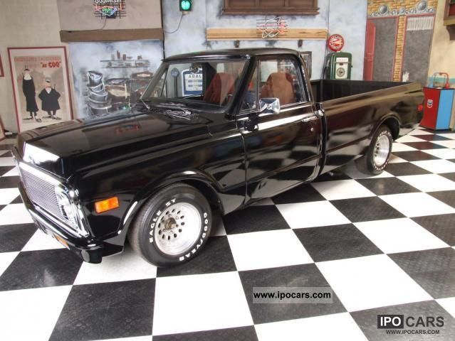 Chevrolet  S-10 / C 10 5.7-liter V8 / 255 HP! / Sty HotRod 1969 Vintage, Classic and Old Cars photo