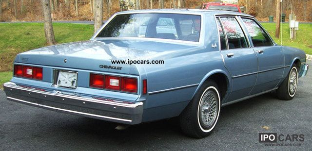 1985 chevrolet impala car photo and specs. Black Bedroom Furniture Sets. Home Design Ideas