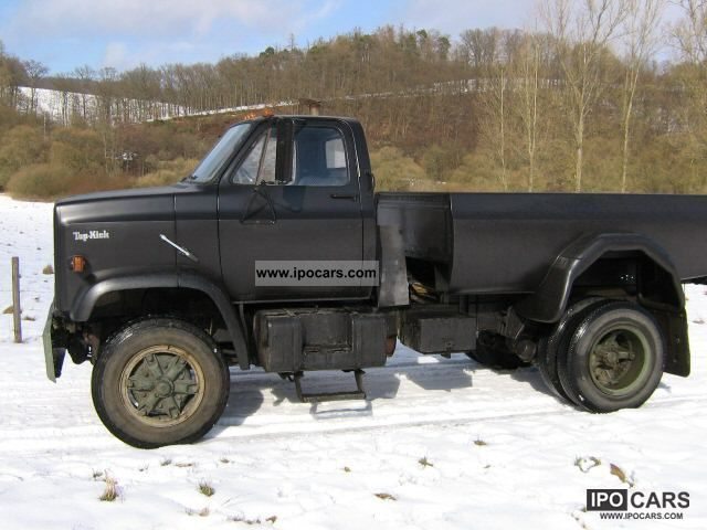 1985 Chevrolet  Top Kick specialist conversion Off-road Vehicle/Pickup Truck Used vehicle photo