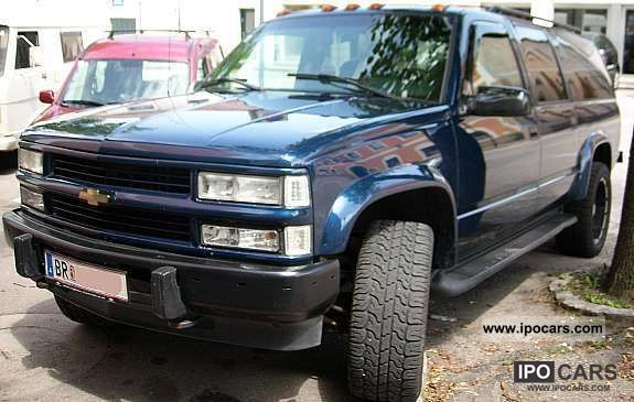 1996 Chevrolet  Suburban 4WD Off-road Vehicle/Pickup Truck Used vehicle photo