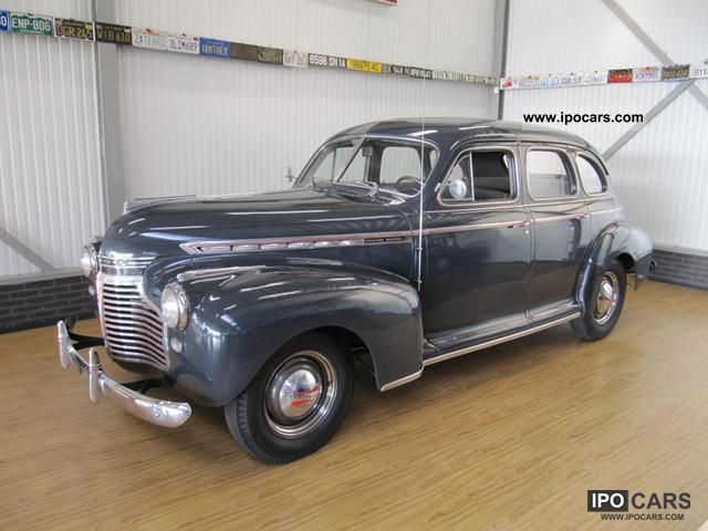 Chevrolet  Special De Luxe Sedan 1941 Vintage, Classic and Old Cars photo
