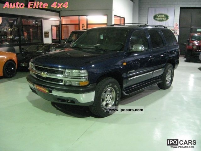 Chevrolet  Tahoe LT 5.3 V8 aut autocarro-gpl 2002 Liquefied Petroleum Gas Cars (LPG, GPL, propane) photo