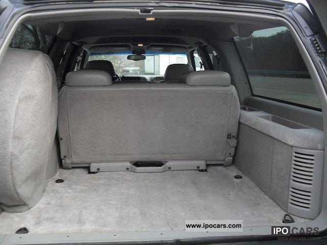 1997 Chevrolet Tahoe 6l 5 Diesel 4x4 Long 7 Places Car