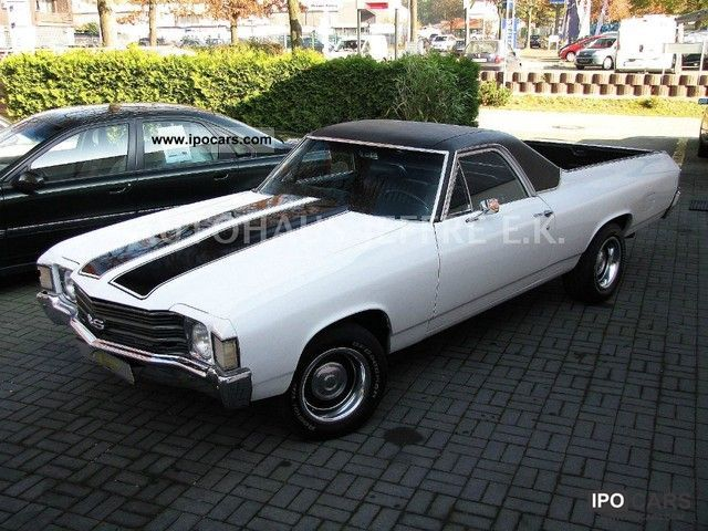 Chevrolet  El Camino 5.7 V8 H - Indicator 1972 Vintage, Classic and Old Cars photo