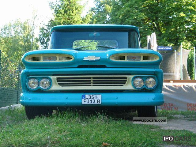 1960 chevrolet c10 pick up car photo and specs. Black Bedroom Furniture Sets. Home Design Ideas