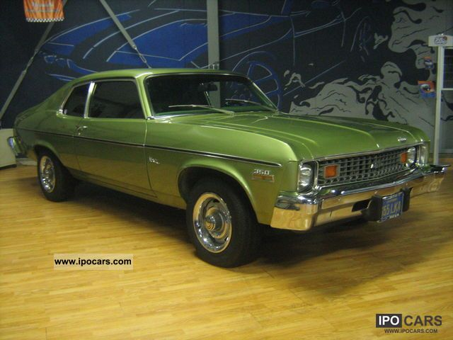 Chevrolet  Nova 350 4Brrl Complete original docs incl. 1974 Vintage, Classic and Old Cars photo