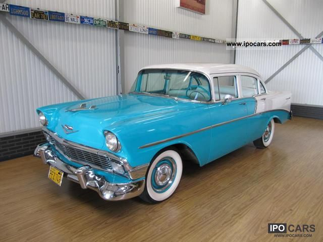 Chevrolet  Bell Air Sedan 1956 Vintage, Classic and Old Cars photo