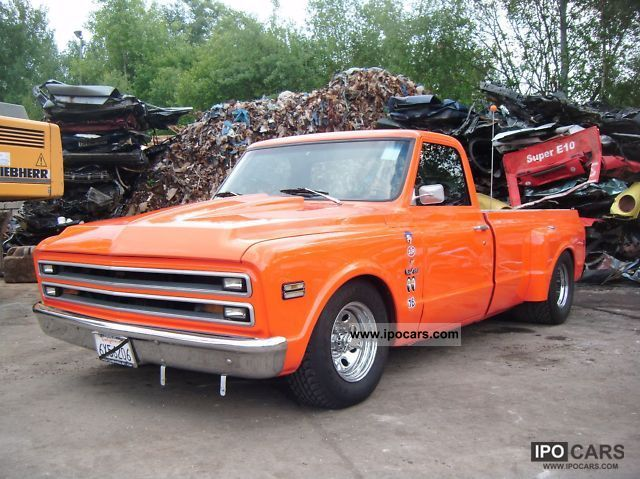 Chevrolet  C10 Custom Truck 1968 Vintage, Classic and Old Cars photo