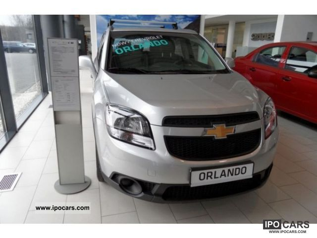 2011 Chevrolet  Orlando Air + 1.8 LS 141km Off-road Vehicle/Pickup Truck New vehicle photo