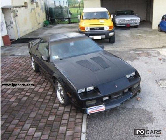 T Top Cars >> 1986 Chevrolet Camaro Z28 T Top Car Photo And Specs