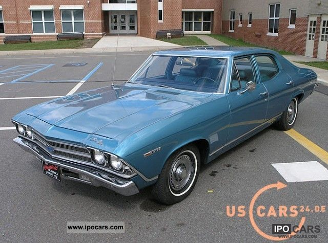 Chevrolet  Chevelle Malibu, 5.0L V8, excellent condition, stock 1969 Vintage, Classic and Old Cars photo
