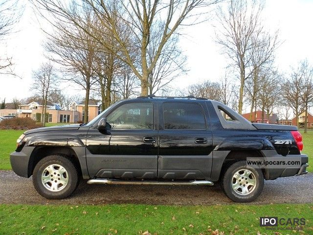 Chevrolet  Avalanche 2004 Liquefied Petroleum Gas Cars (LPG, GPL, propane) photo