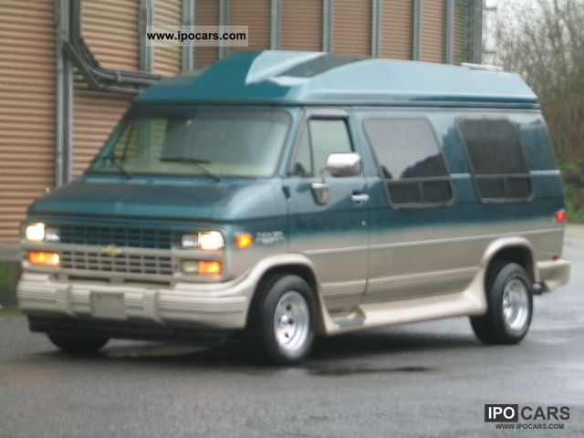 1995 Chevrolet  Show couch / Starcraft LPG Vision Standhzg.Megaoptik Van / Minibus Used vehicle photo