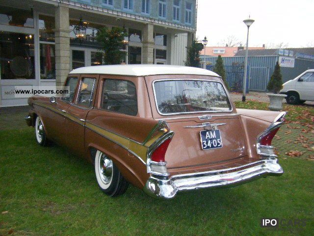 Chevrolet  Pacard Wagon, 1958, 45 United States and Classic Cars 1958 Vintage, Classic and Old Cars photo