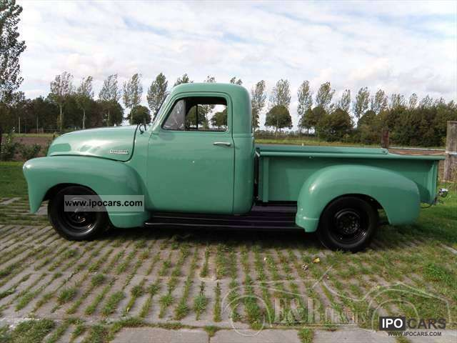 Chevrolet  3100 pickup 1952 restored 1952 Vintage, Classic and Old Cars photo