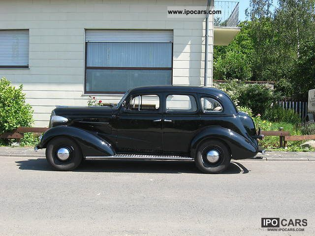 Chevrolet  Master Deluxe Sport Sedan 1937 Vintage, Classic and Old Cars photo