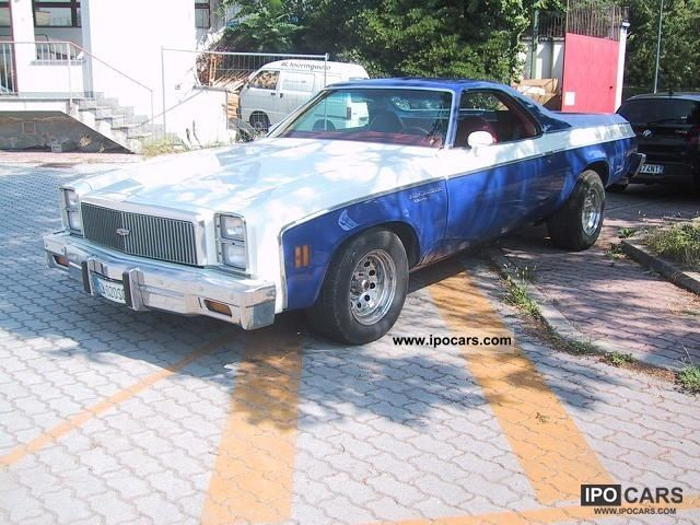 Chevrolet  El Camino PICK UP 1977 Vintage, Classic and Old Cars photo