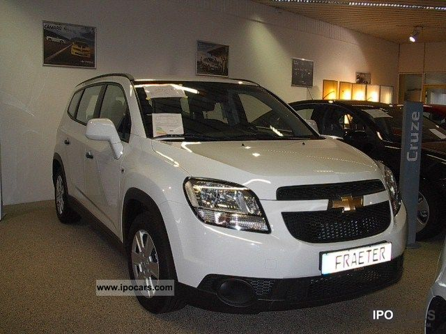 2010 Chevrolet  Orlando 1.8 LS Van / Minibus New vehicle photo