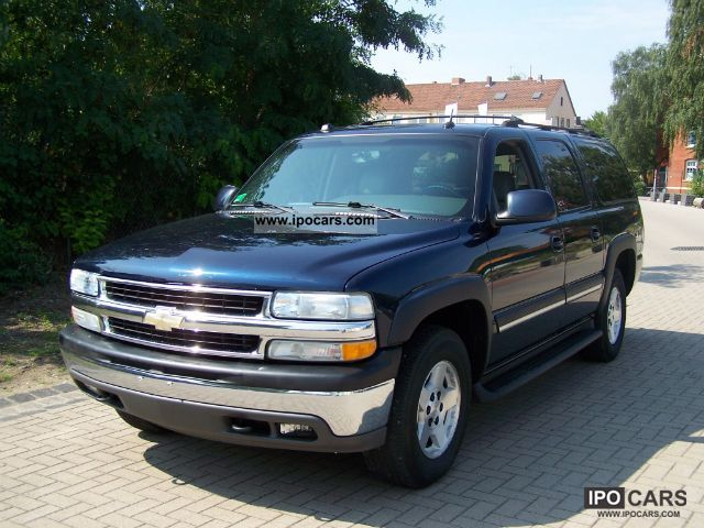 Chevrolet  Suburban LT 4x4 FlexFuel E85 Leather 8Sitz 2005 Ethanol (Flex Fuel FFV, E85) Cars photo