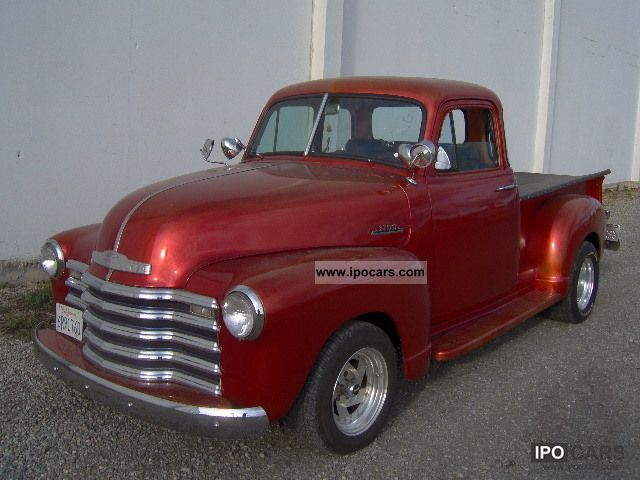 Chevrolet  3100 Chevy Pickup 350cui/V8--DISCBRAKE-- 1952 Vintage, Classic and Old Cars photo