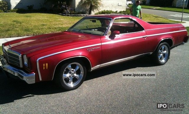 Chevrolet  El Camino 1974 Vintage, Classic and Old Cars photo