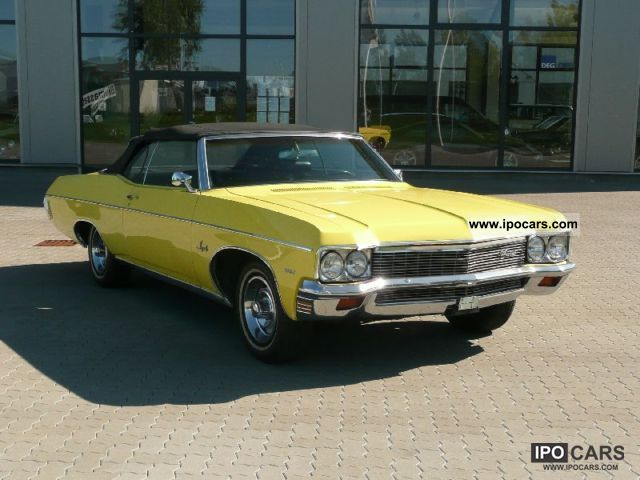 Chevrolet  Impala Convertible 1970 Vintage, Classic and Old Cars photo