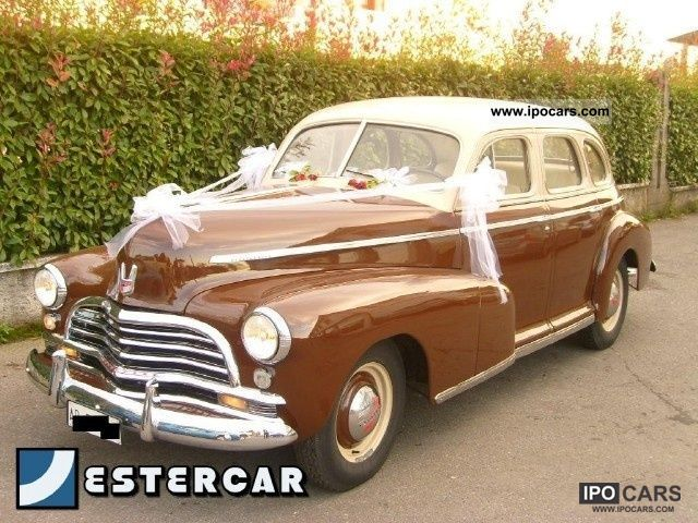 Chevrolet  Chev Fleetmaster 5.3 BENZINA - Vettura DE'POCA 1946 Vintage, Classic and Old Cars photo