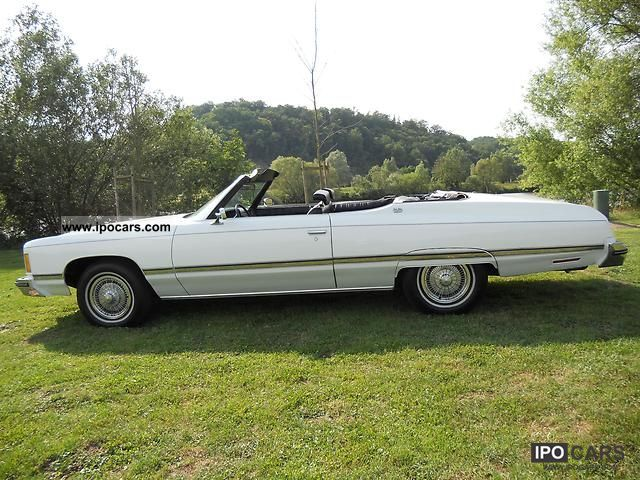 Chevrolet  Caprice 1974 Vintage, Classic and Old Cars photo