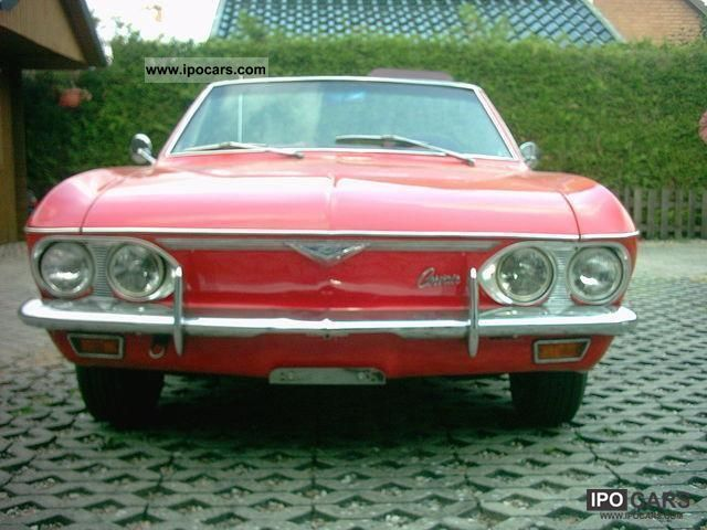 Chevrolet  Corvair Monza 1966 Vintage, Classic and Old Cars photo
