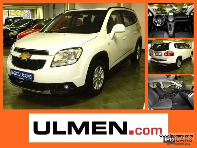 2012 Chevrolet  Orlando LT plus 2.0 Limousine Pre-Registration photo