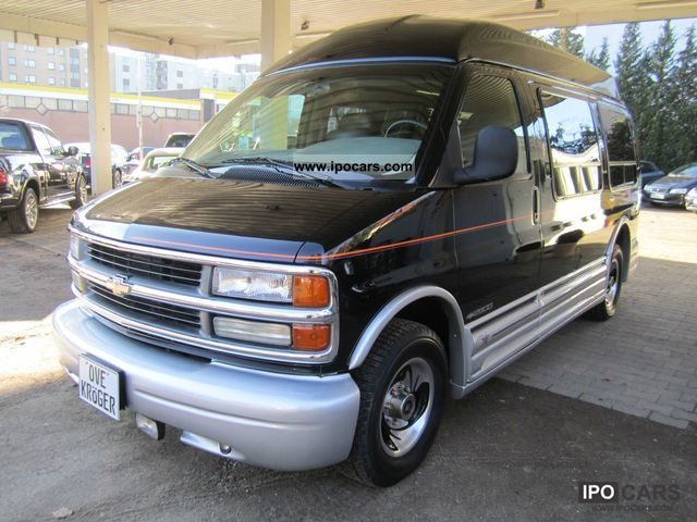 1998 Chevrolet Express 2500 Passenger Prices Reviews Pictures