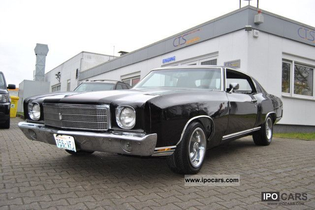 Chevrolet  Monte Carlo V8 350 Triple Black 1970 Vintage, Classic and Old Cars photo