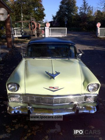 Chevrolet  Bel Air 4-dr Sport Coupe 'Hardtopcoupe 1956 Vintage, Classic and Old Cars photo