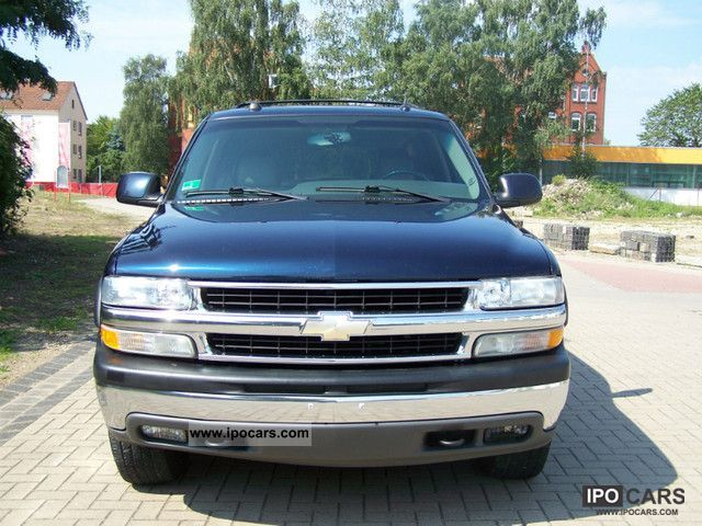 Chevrolet  Suburban LT 4x4 leather 8Sitzer DVD # LPG gas 2005 Liquefied Petroleum Gas Cars (LPG, GPL, propane) photo