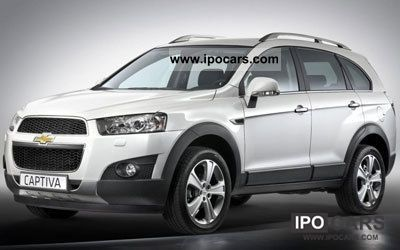 2011 Chevrolet  Captiva 2.4 LT 2WD 7-seater Off-road Vehicle/Pickup Truck New vehicle photo