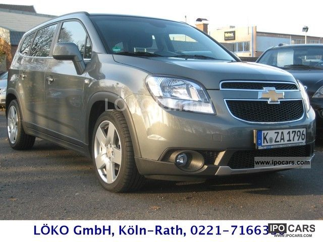 2012 Chevrolet Orlando Ltz 2 0 Car Photo And Specs